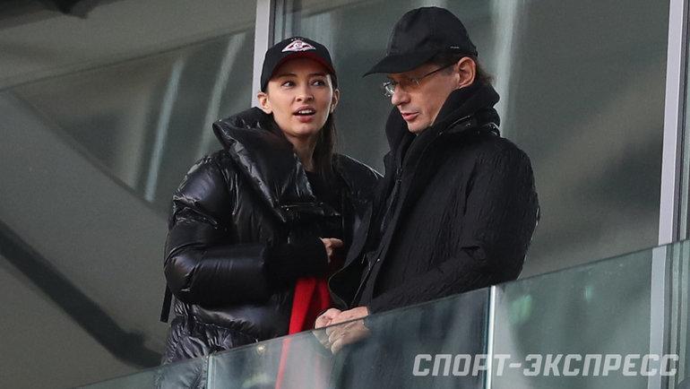 Зарема Салихова и Леонид Федун. Фото «СЭ»/ Canon EOS-1D X Mark II