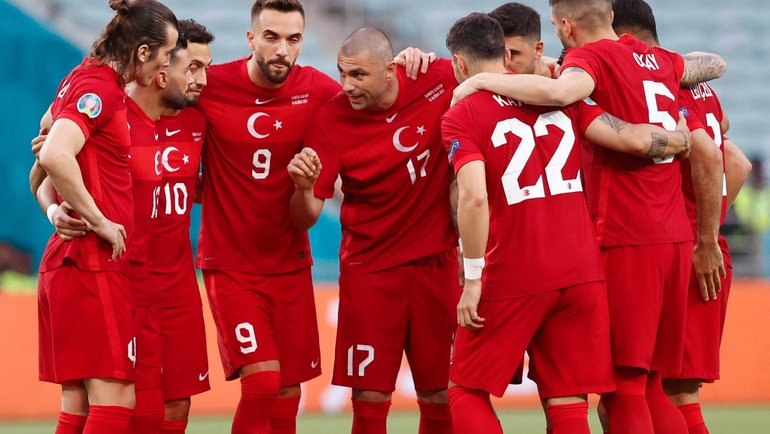 Сборная Турции.
