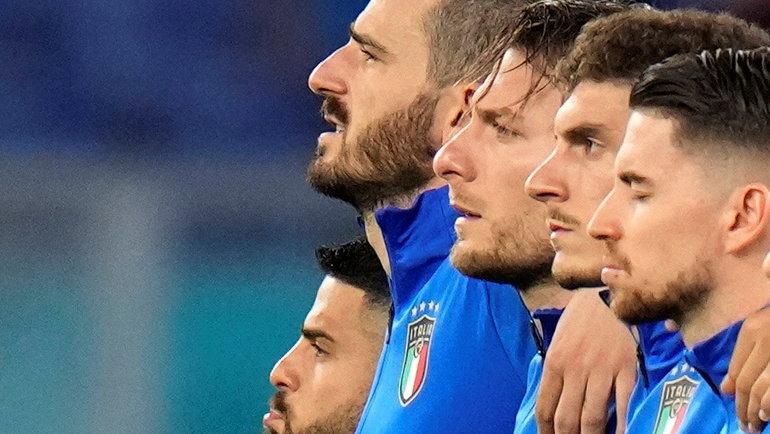 Сборная Италии. Фото AFP