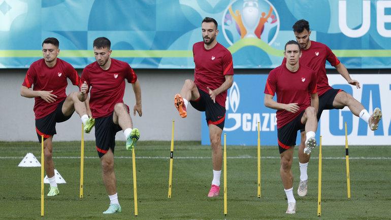 Игроки сборной Турции. Фото Reuters