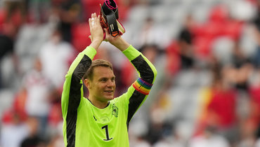 УЕФА начал расследование из-за радужной капитанской повязки Нойера наЕвро-2020