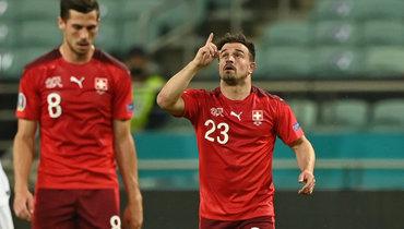Шакири стал первым футболистом вистории Швейцарии, который забивал начетырех крупных турнирах подряд