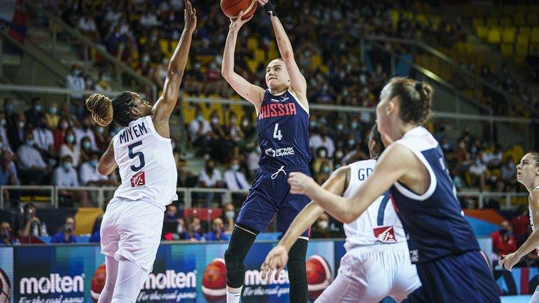 Россиянки сыграют против Словении в1/8 финала Евробаскета. Фото FIBA
