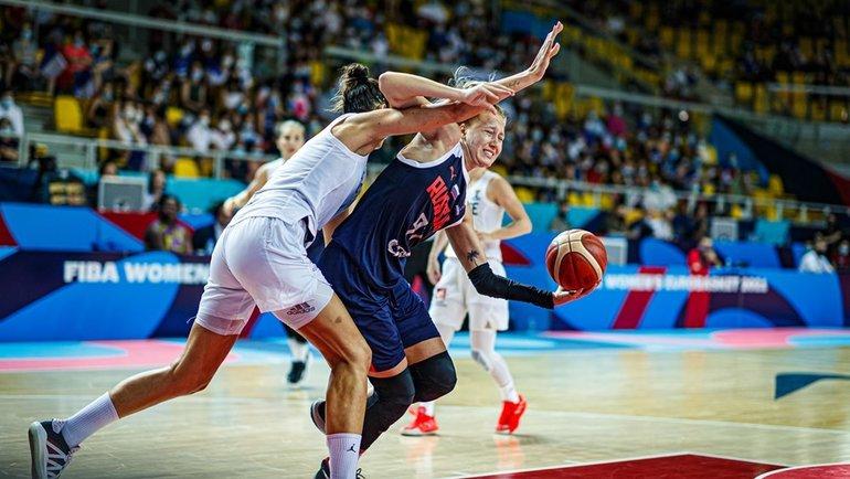 20июня. Франция— Россия— 85:59. Фото FIBA