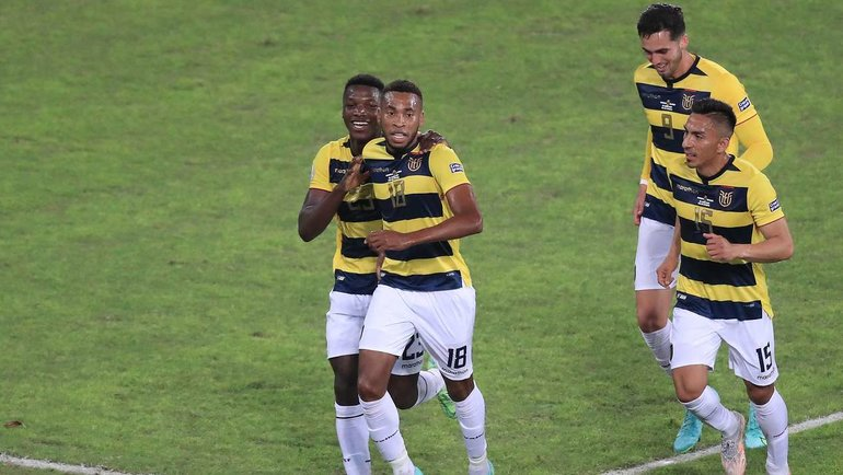 21июня. Кубок Америки. Венесуэла— Эквадор— 2:2. Фото AFP