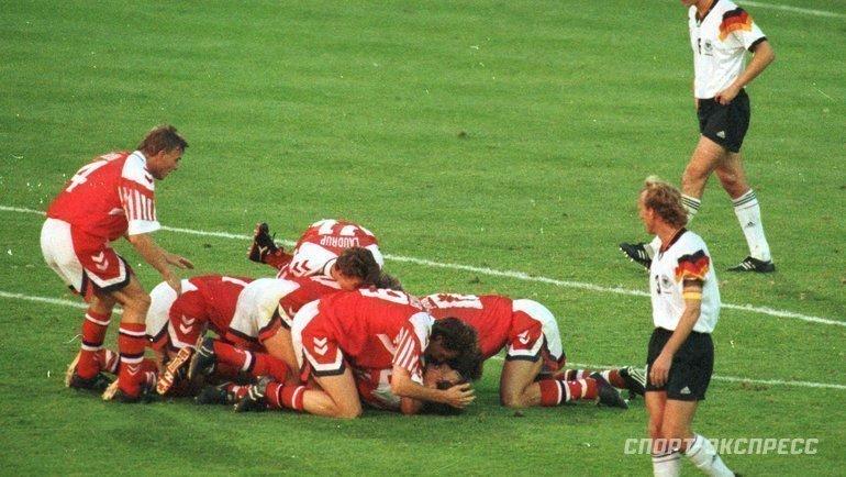 Дания— чемпион Европы-1992. Фото Александр Федоров, «СЭ»