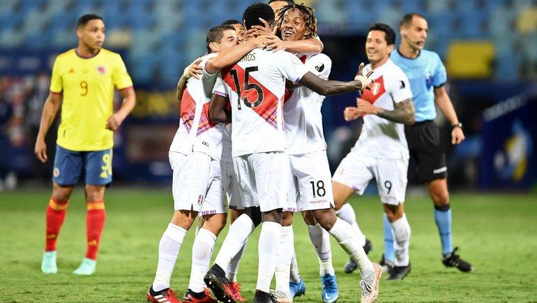 21июня. Кубок Америки. Колумбия— Перу— 1:2. Фото Twitter