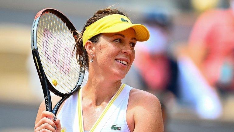 Анастасия Павлюченкова. Фото AFP