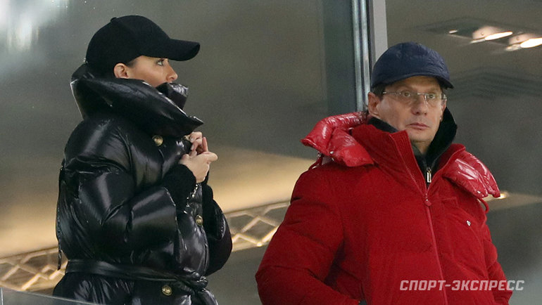 Леонид Федун и Зарема Салихова. Фото Александр Федоров, «СЭ» / Canon EOS-1D X Mark II