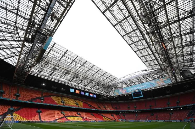 «Йохан Кройфф Арена» перед матчем. Фото UEFA.com