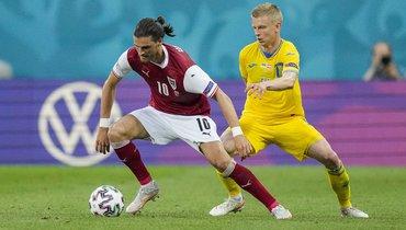 Гриллич признан лучшим игроком матча Украина— Австрия