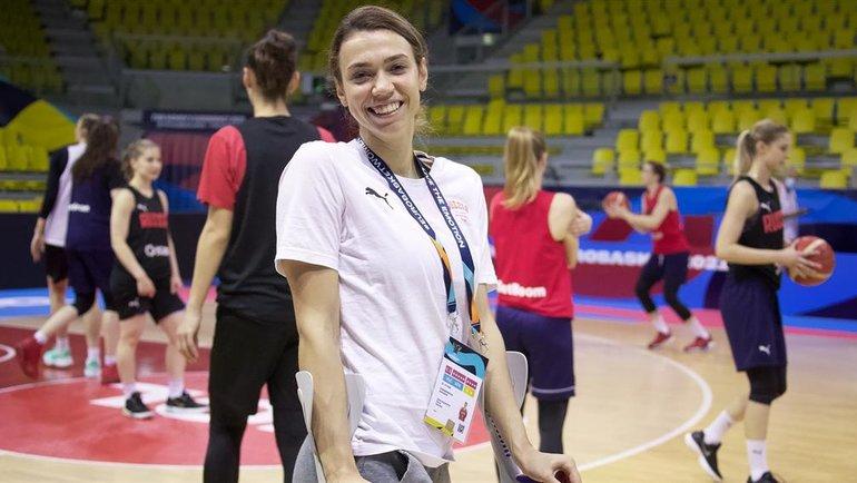 Екатерина Федоренкова. Фото РФБ.