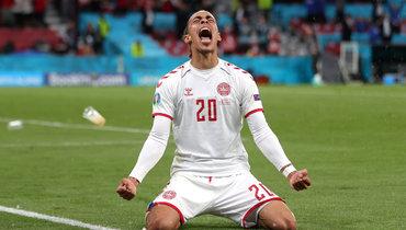 Россия— Дания: Поульсен забил гол после грубейшей ошибки Зобнина