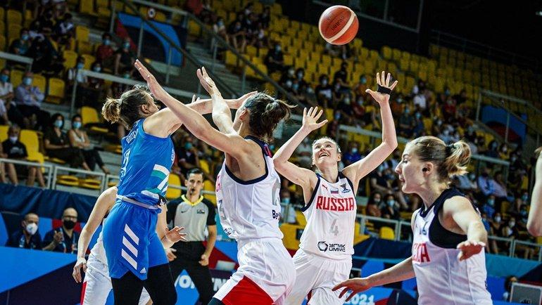 21июня. Страсбург. Россия— Словения— 93:75. Фото FIBA