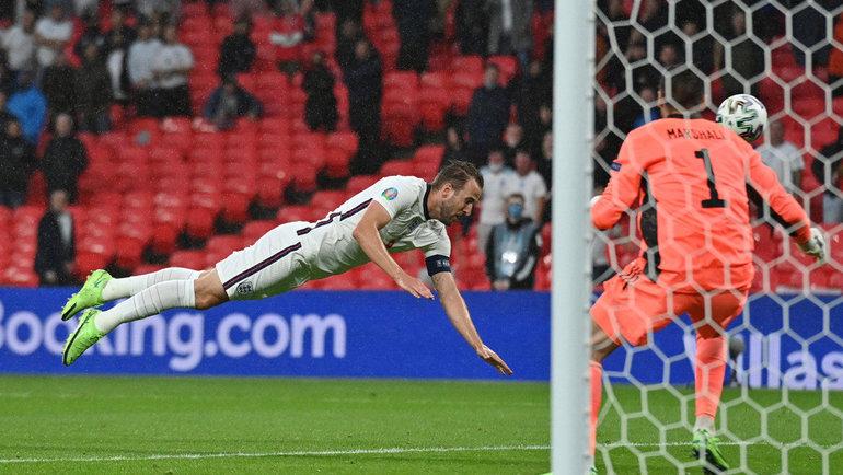 Форвард сборной Англии Харри Кейн. Фото Reuters