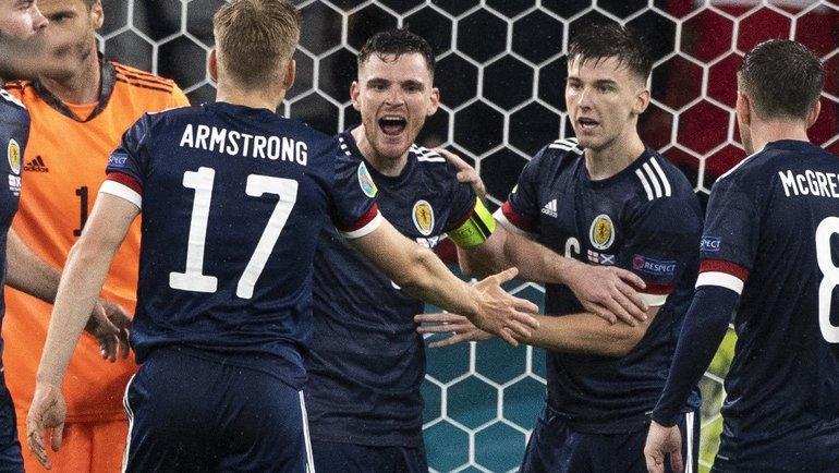 Сборная Шотландии сыграет сХорватией вматче Евро-2020. Фото twitter.com/ScotlandNT