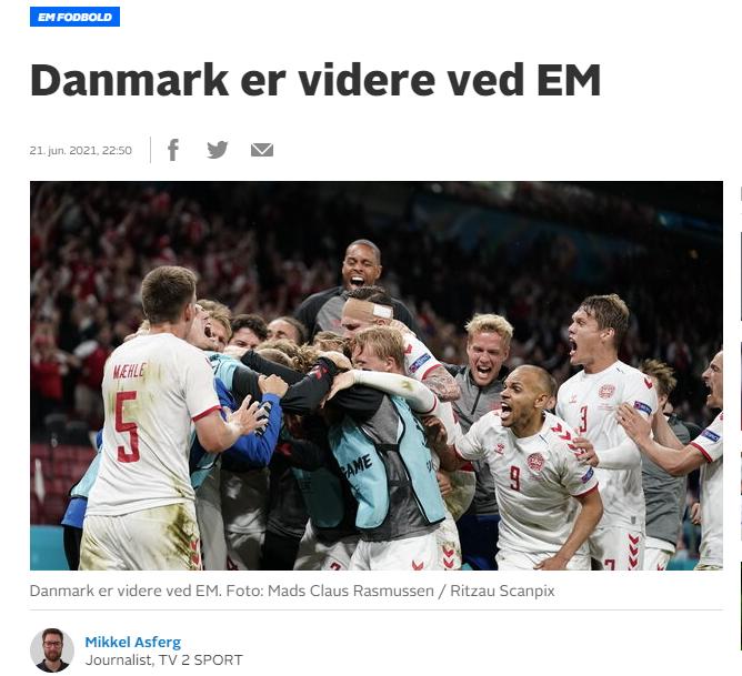 Комментатор датского канала TV2 Флемминг Тофт.