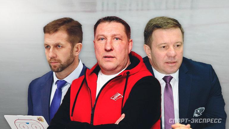 Юрий Бабенко, Борис Миронов иОлег Леонтьев. Фото «СЭ»