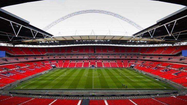 Стадион «Уэмбли». Фото Twitter