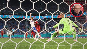 12июня. Санкт-Петербург. Бельгия— Россия— 3:0. Ромелу Лукаку забивает гол.