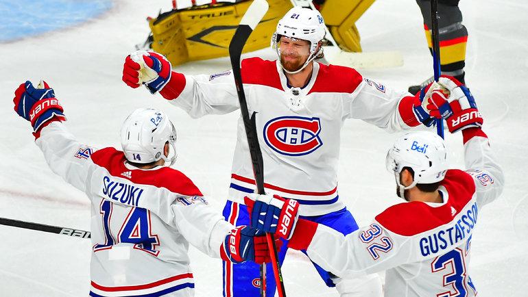 «Монреаль» победил «Вегас». Фото USA Today Sports