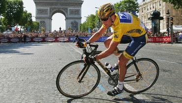 Петля нашее «Тур деФранс». Эта велогонка идопинг— почти синонимы