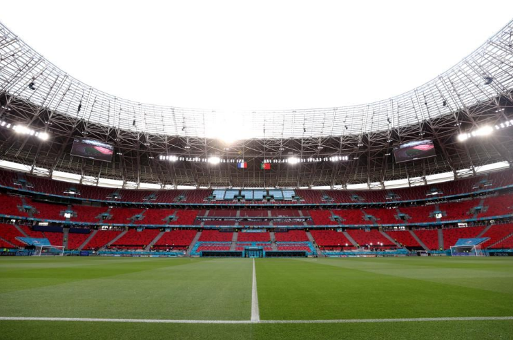 «Пушкаш Арена» перед матчем. Фото UEFA.com