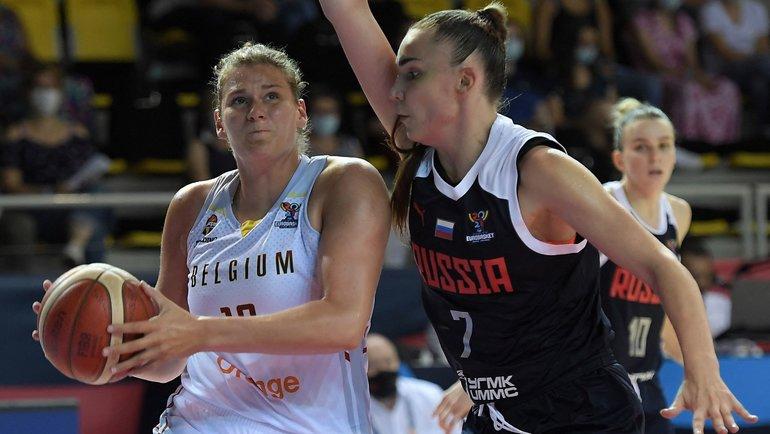 Бельгия — Россия — 85:83. Фото AFP