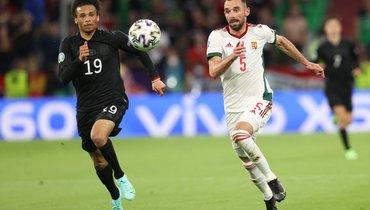 Германия спаслась отпоражения вматче сВенгрией ивышла в1/8 финала Евро-2020