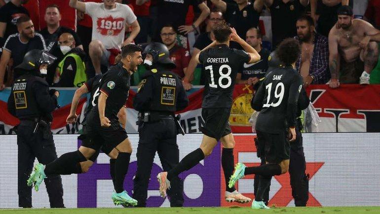 23июня. Германия— Венгрия— 2:2. Фото AFP