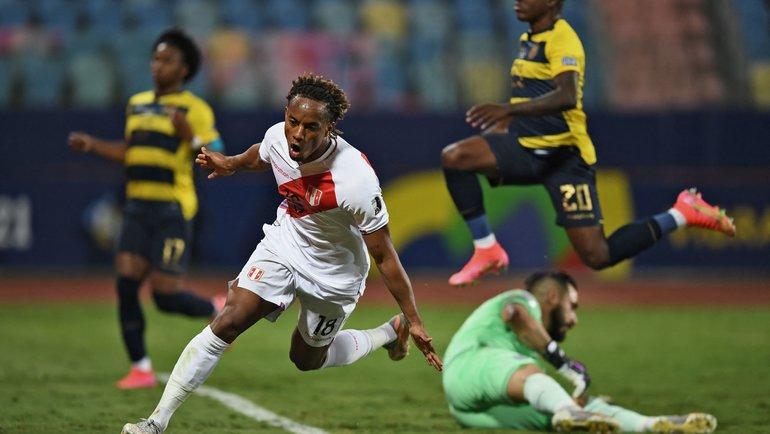 Эквадор— Перу— 2:2. Фото AFP