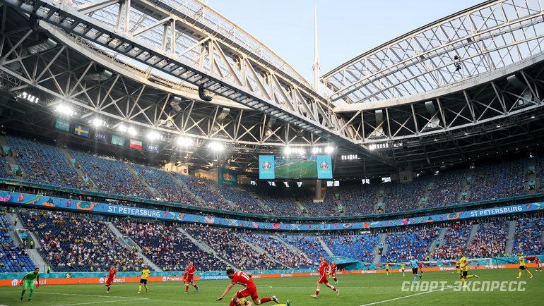 Стадион вСанкт-Петербурге. Фото Дарья Исаева, «СЭ» / Canon EOS-1D X Mark II