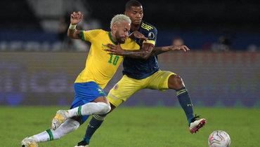 24июня. Бразилия— Колумбия— 2:1.
