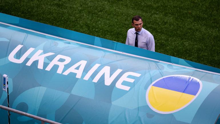 Главный тренер сборной Украины Андрей Шевченко. Фото Reuters