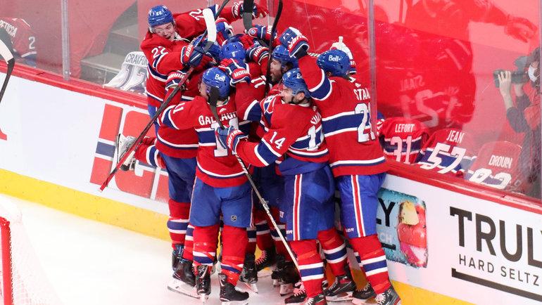 24июня. Квебек. «Монреаль»— «Вегас»— 3:2 ОТ. Фото USA Today Sports