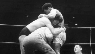26июня 1976 года. Мохаммед Али вбою сАнтонио Иноки.