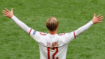 Уэльс— Дания: Дольберг открыл счет