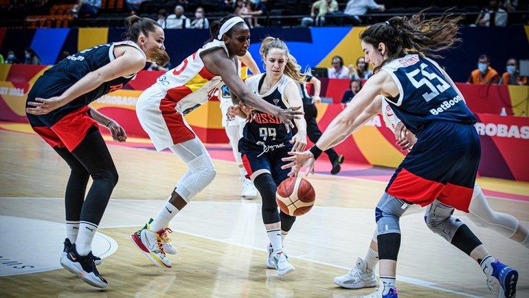 Испания— Россия— 74:78. Фото FIBA