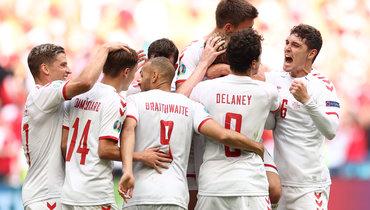 Дубль Дольберга помог Дании разгромить Уэльс в1/8 финала Евро-2020