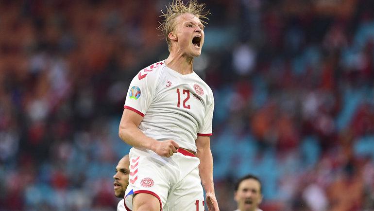 Датский форвард приговорил Уэльс. Перед Евро-2020 его предлагали «Зениту»
