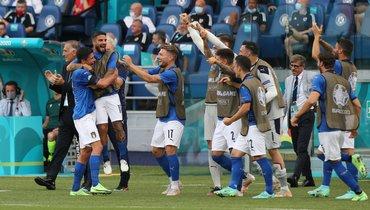Италия непропускает более 1144 минут, это новый рекорд