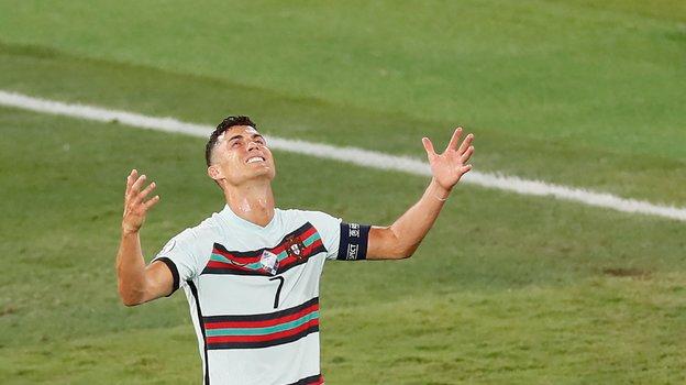 27июня. Севилья. Бельгия— Португалия— 1:0. Криштиану Роналду. Фото AFP