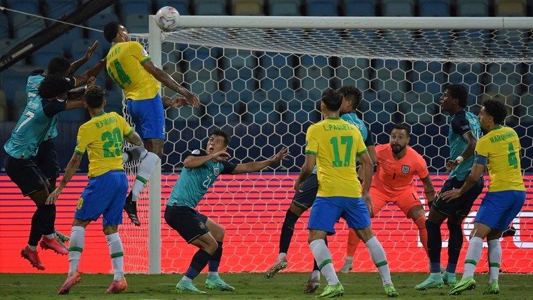 1000-й матч Бразилии: без Неймара, без победы исфирменным промахом Винисиуса
