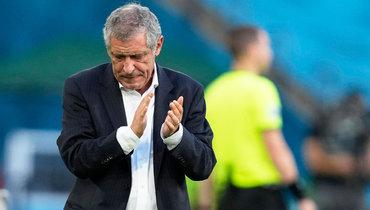 Сантуш считает, что удача отвернулась отсборной Португалии вматче сБельгией