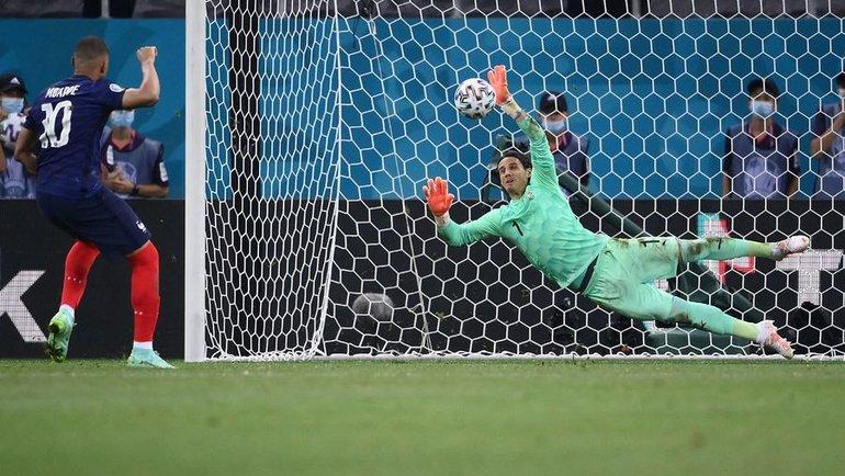 Мбаппе похоронил чемпионов мира. Франция вылетела вогненном матче соШвейцарией