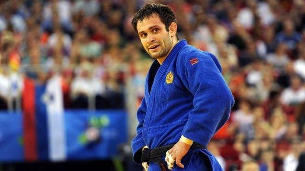 Спортивный директор Федерации дзюдо России Кирилл Денисов. Фото AFP