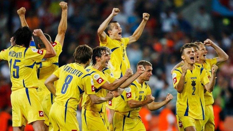 26 июня 2006 года. Кельн. Швейцария - Украина - 0:0 (0:3 пен.). Фото Getty Images