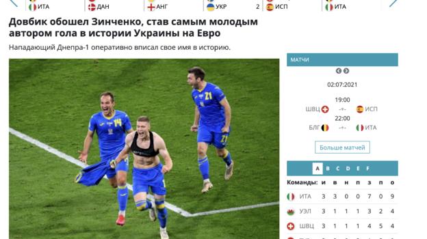 «Довбик— гениальный ход Шевченко». Украинские СМИ оценили победу над Швецией