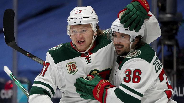 Награды НХЛ: Капризов— лучший новичок сезона, аВасилевского прокатили мимо приза лучшему вратарю