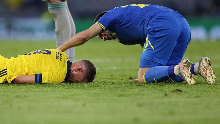 29июня. Глазго. Швеция— Украина— 1:2 д.в. Фото AFP